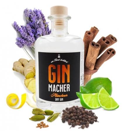 Ginmacher Gin von Ginmacher - Münchner Dry Gin