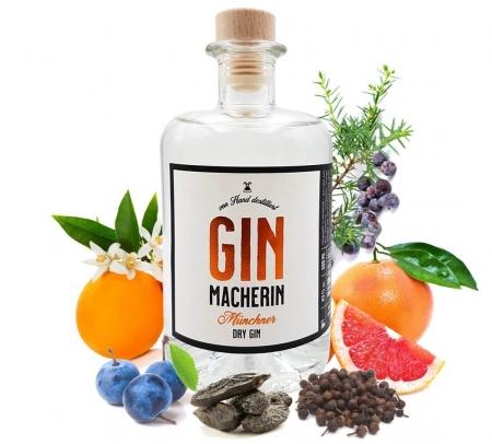 Ginmacherin Gin von Ginmacher - Münchner Dry Gin