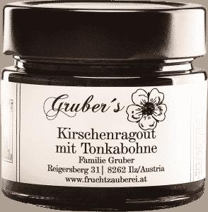 Kirschenragout mit Tonkabohne von Gruber's Fruchtzauberei