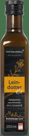 Leindotteröl von Hof-Manufaktur Kreiselmeyer