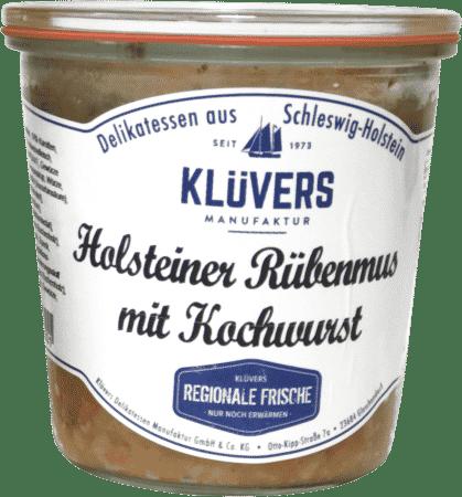 Rübenmus mit Kochwurst 450g von KLÜVERS