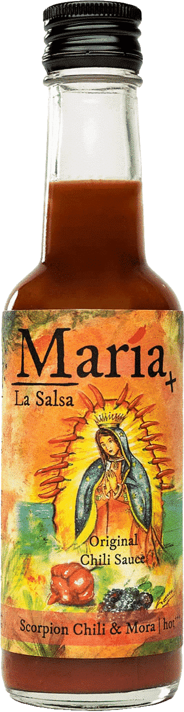 Scorpion Chili & Mora (hot) von María La Salsa