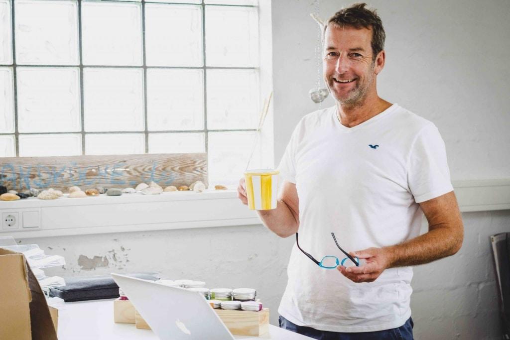 Porträt Markus Kohlberg von der Strandküche