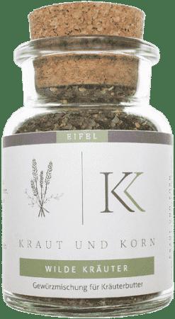Wilde Kräuter Kräuterbuttermischung von Kraut und Korn