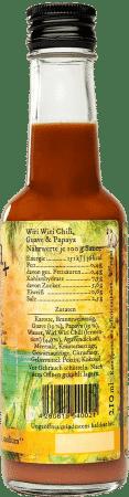 Wiri Wiri Chili, Guave & Papaya (medium) von María La Salsa