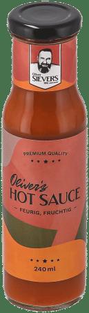 World BBQ Champion Oliver Sievers Hot Sauce von BlackBBQ