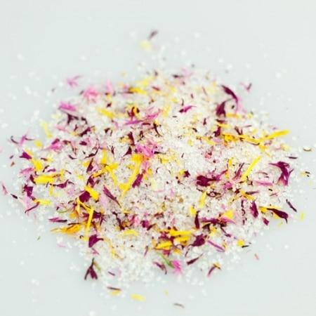 Bio Blütenzucker Vanilleküsschen von Tante Fine