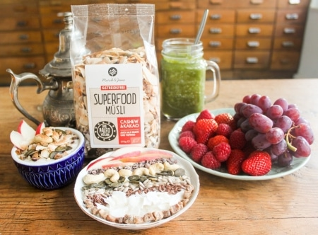 Bio Superfood Müsli Cashew & Kakao 375g