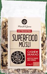 Bio Superfood Müsli glutenfrei Cashew & Kakao