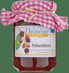 Felsenbirnen-Fruchtaufstrich