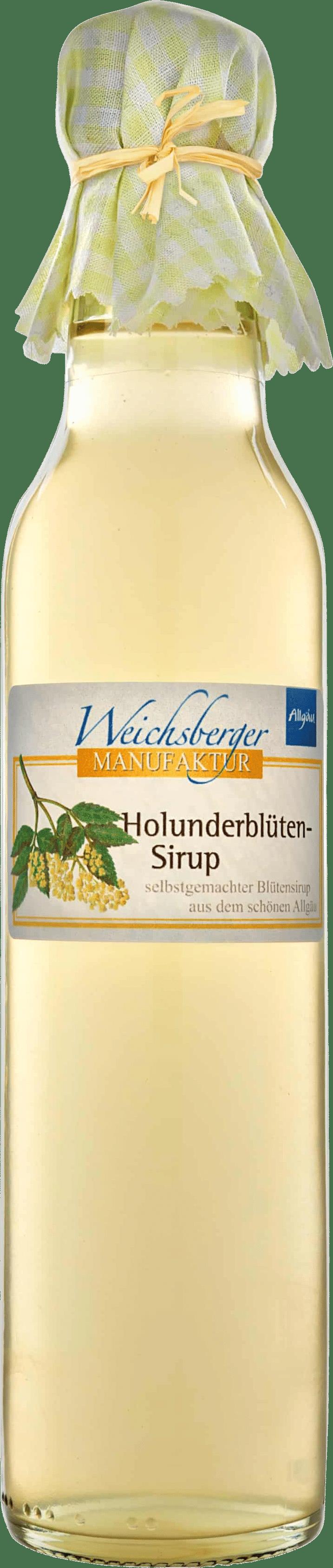 Holunderblüten-Sirup von Weichsberger Manufaktur