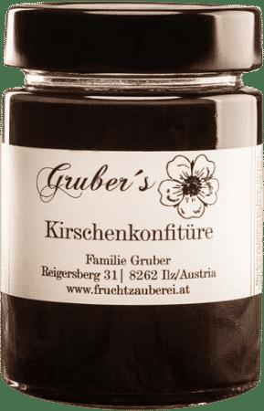 Kirschenkonfitüre von Gruber's Fruchtzauberei