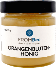 Orangenblüten Honig von FROMBee