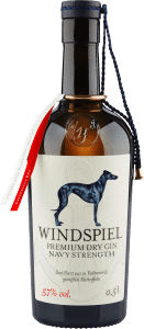 Premium Dry Gin Navy Strength von Windspiel Manufaktur