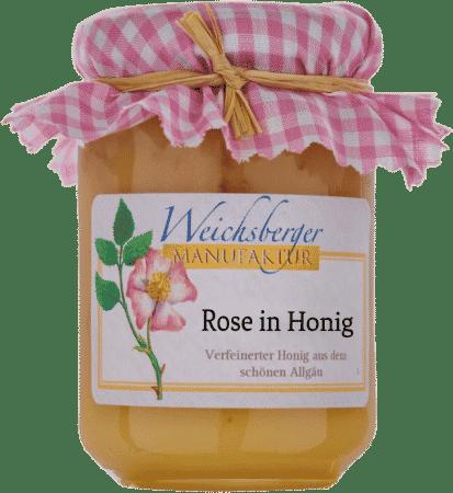 Rose in Honig