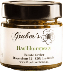 Basilikum Pesto von Gruber's Fruchtzauberei