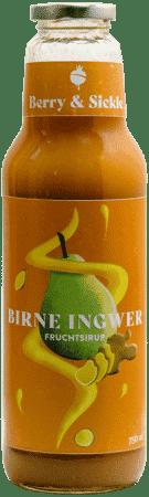 Berry & Sickle Fruchtsirup Birne-Ingwer von Food Craftory