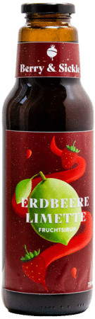 Berry & Sickle - Fruchtsirup Erdbeere-Limette von Food Craftory