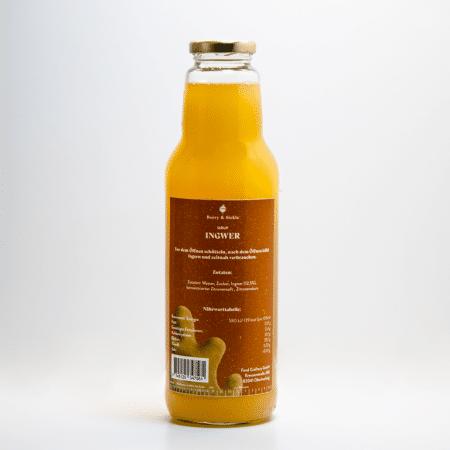 Berry & Sickle - Sirup Ingwer von Food Craftory