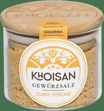 Bio Gewürzsalz Curry Zitrone