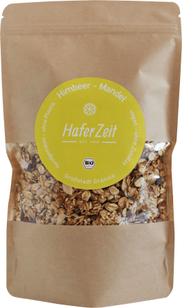 Bio-Granola Himbeer-Mandel