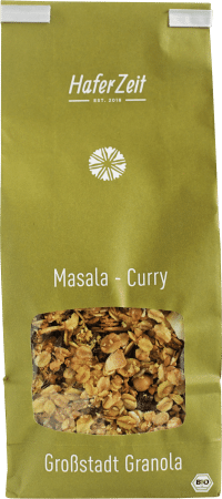 Bio-Granola Masala-Curry