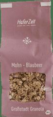 Bio-Granola Mohn-Blaubeer