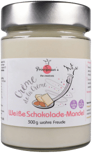 Crème de la Crème - Weiße Schokolade-Mandel von Principessa's München