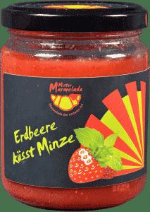 Erdbeere küsst Minze