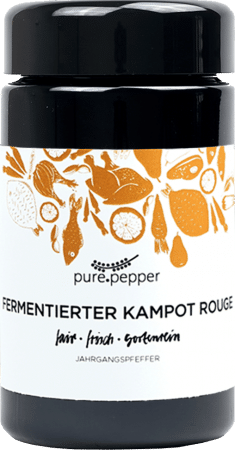 Fermentierter Kampot Rouge von Pure Pepper