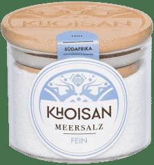 Meersalz (fein) im Glas von Khoisan
