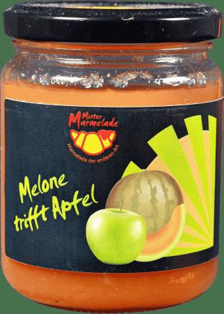 Melone trifft Apfel