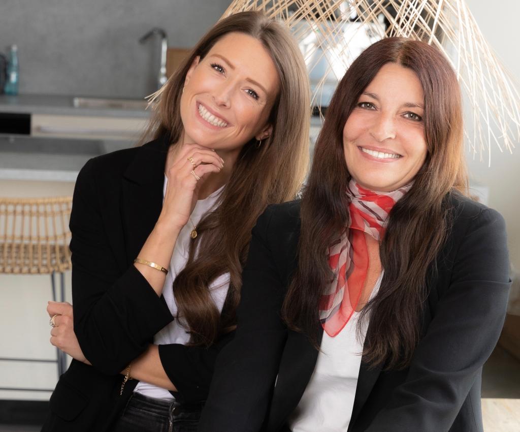 Geschäftsführerinnen Tanja und Pilar Hammel von Tante Fine