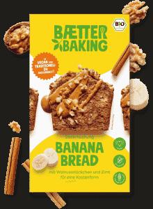 Bio Backmischung Banana Bread glutenfrei