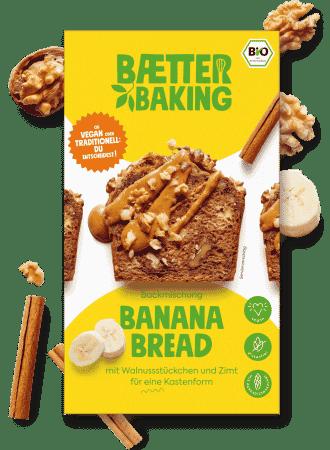 Bio Backmischung Banana Bread