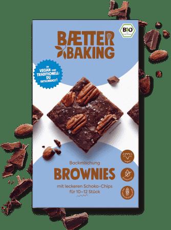 Bio Backmischung Brownies glutenfrei