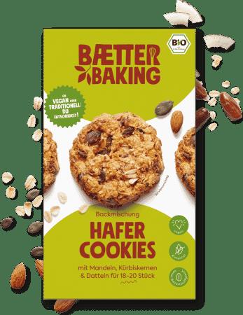 Bio Backmischung Hafer Cookies