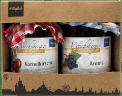 Aronia & Kornelkirsche in der Geschenk-Box