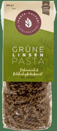 Bio Grüne Linsen Pasta