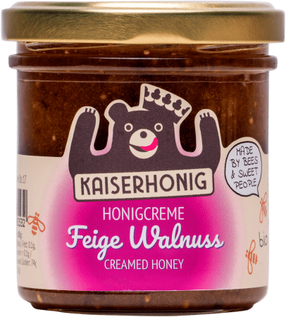 Bio Honigcreme Feige Walnuss