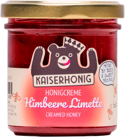 Bio Honigcreme Himbeere Limette