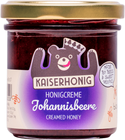 Bio Honigcreme Johannisbeere