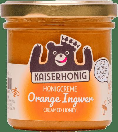 Bio Honigcreme Orange Ingwer