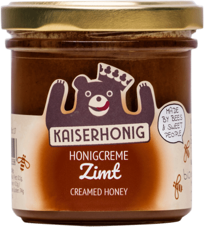 Bio Honigcreme Zimt