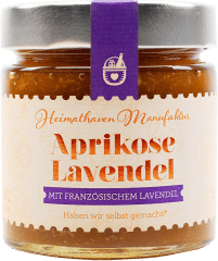 Fruchtaufstrich Aprikose Lavendel