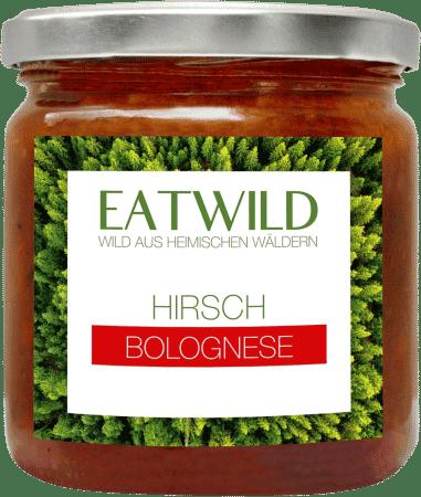 Hirsch Bolognese mit Bio-Zutaten