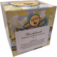 Kardabomb - Vollmilch mit Kardamom