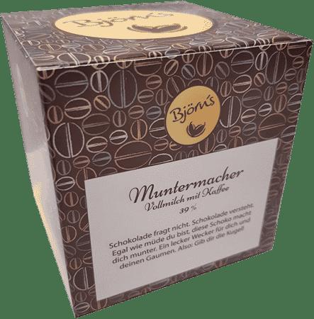 Muntermacher - Vollmilch mit Kaffee