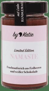 Namaste - Erdbeeren mit weisser Schokolade