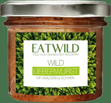 Wild Leberwurst mit Kräutern & Bio-Zutaten